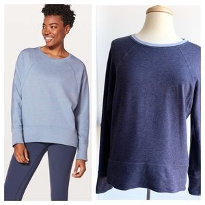 Lululemon reversible Time Out long sleeve top